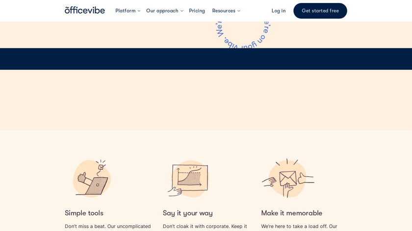 Officevibe Landing Page