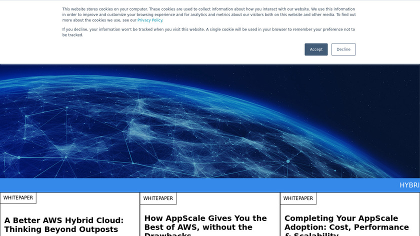 AppScale Landing Page