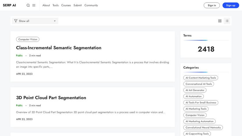 Objectiveli Landing Page