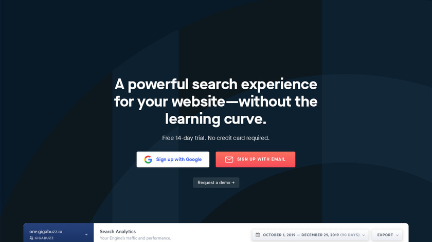 Swiftype Landing Page
