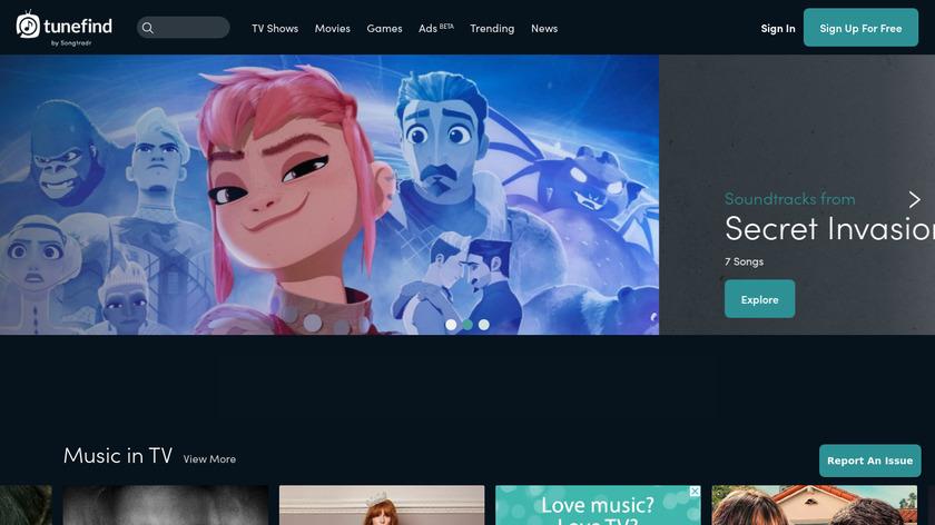 HeardOnTV Landing Page