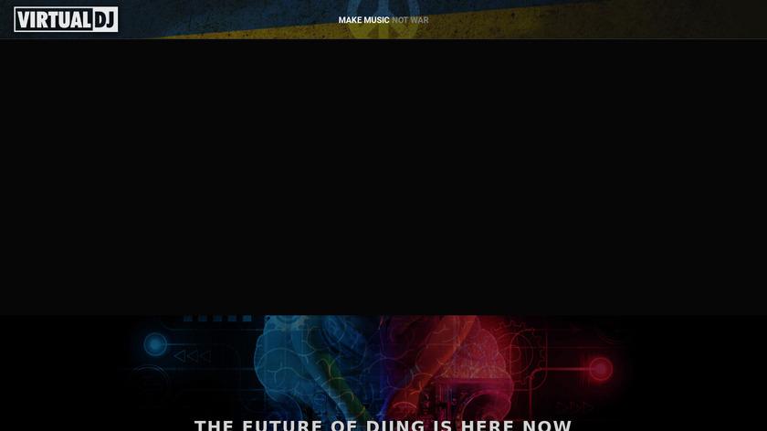 VirtualDJ Landing Page