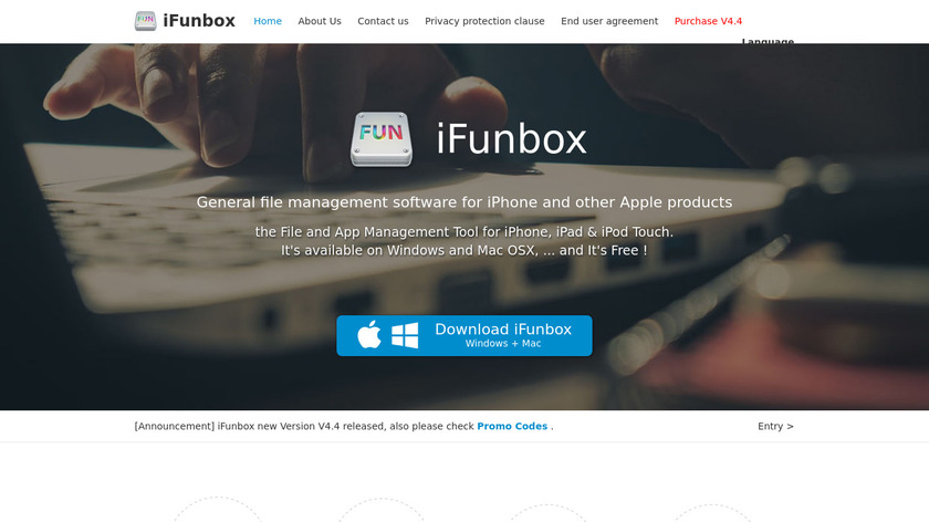 i-FunBox Landing Page