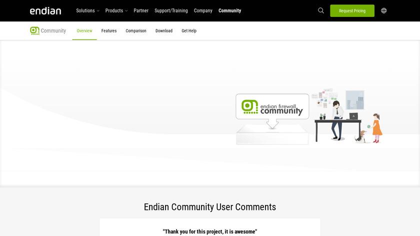 Endian Firewall Community Landing Page