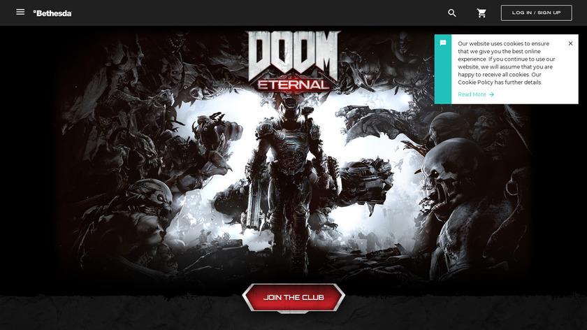 Doom Landing Page