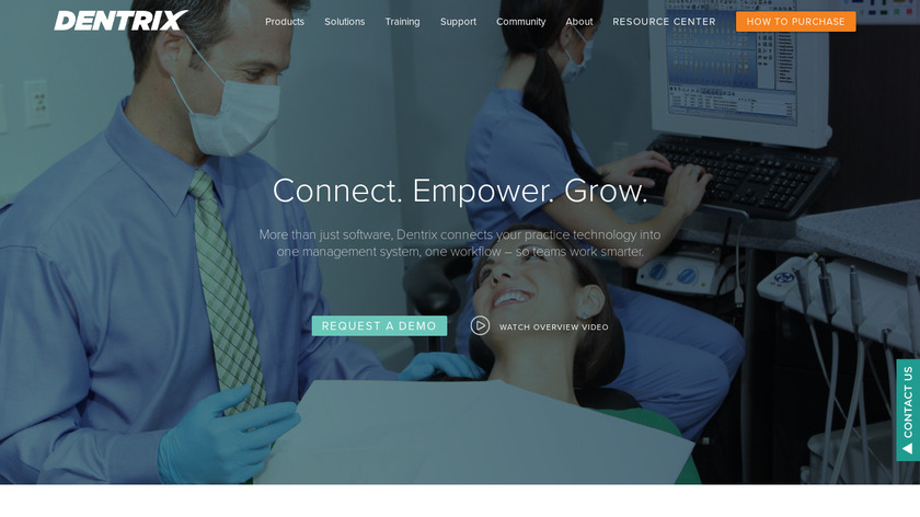 Dentrix Landing Page