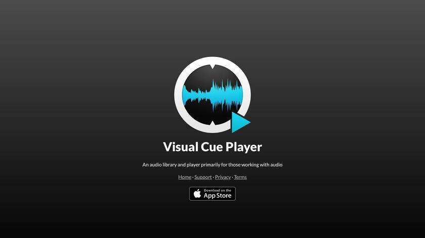 Visual Cue Landing Page
