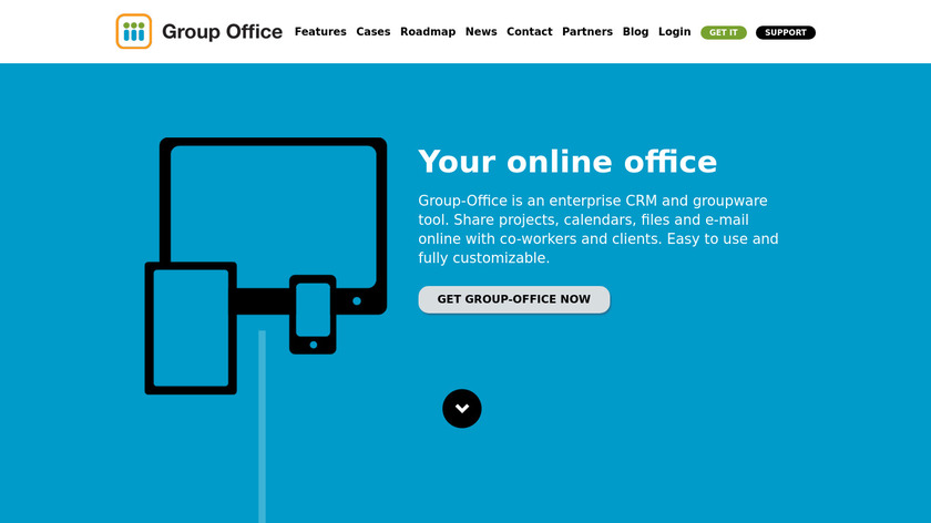 Group Office Landing Page