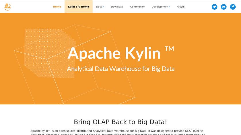 Apache Kylin Landing Page