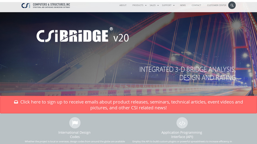 CSi Bridge Landing Page