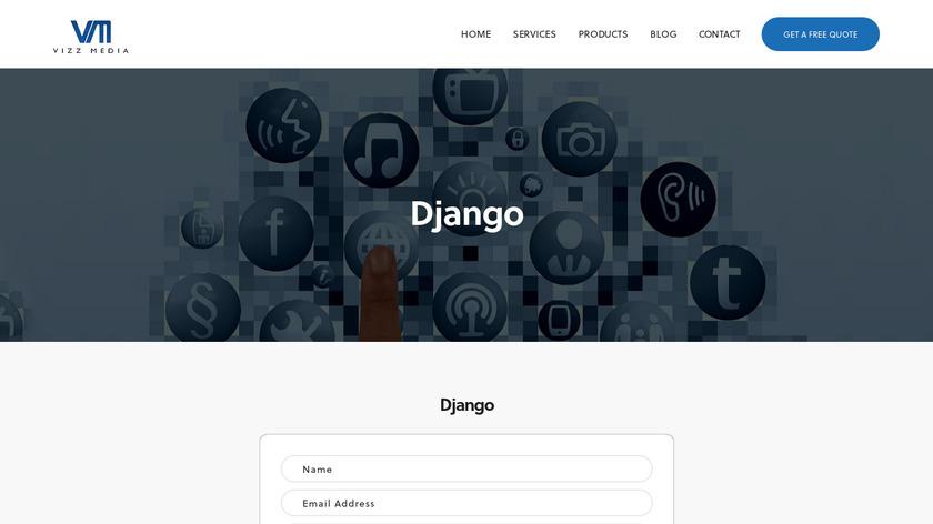 Django Automatic Call Recorder Landing Page