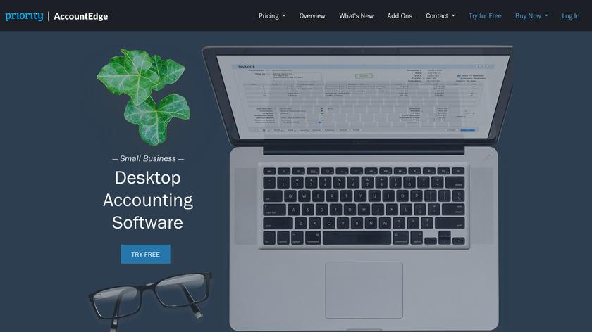 AccountEdge Pro Landing Page