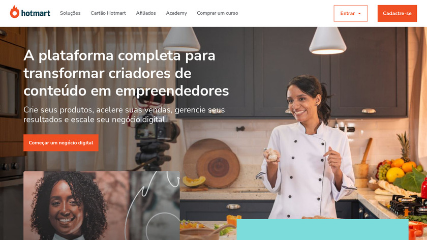 Hotmart Landing Page