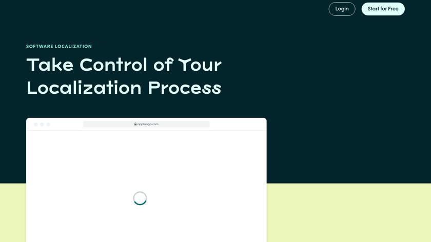 Applanga Landing Page