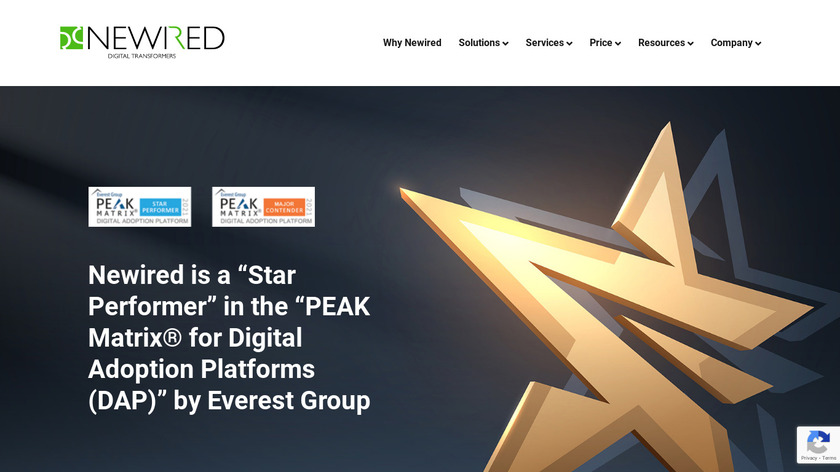 Newired Journeys Landing Page