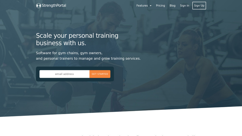StrengthPortal Landing Page