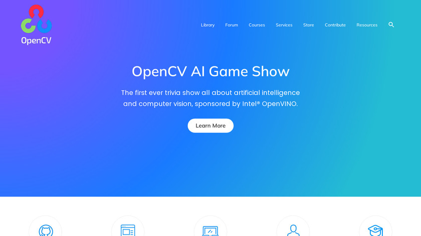 OpenCV Landing Page