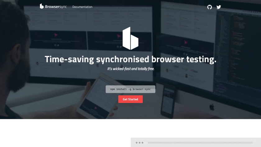 Browsersync Landing Page