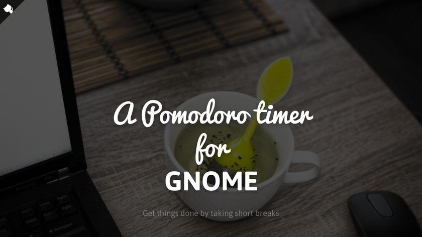 Gnome Pomodoro Landing Page