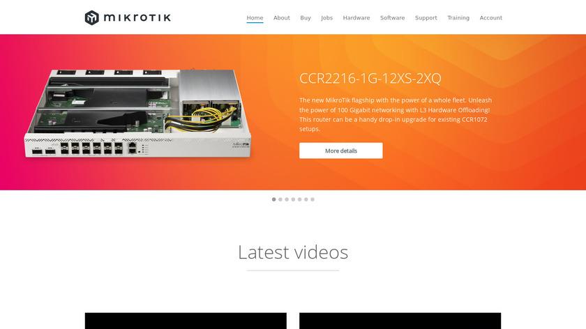 Compare MikroTik RouterOS VS OpenWrt - SaaSHub