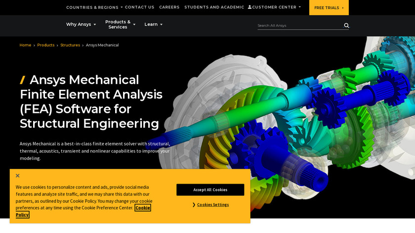 ANSYS Mechanical Landing Page