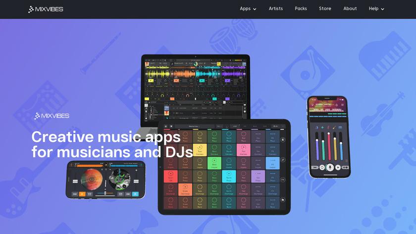 Cross DJ Landing Page