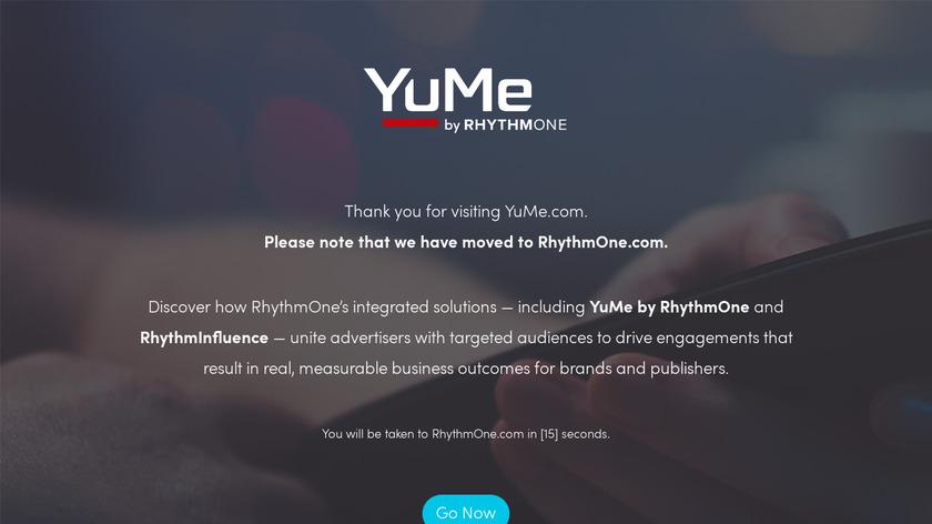 YuMe Landing Page