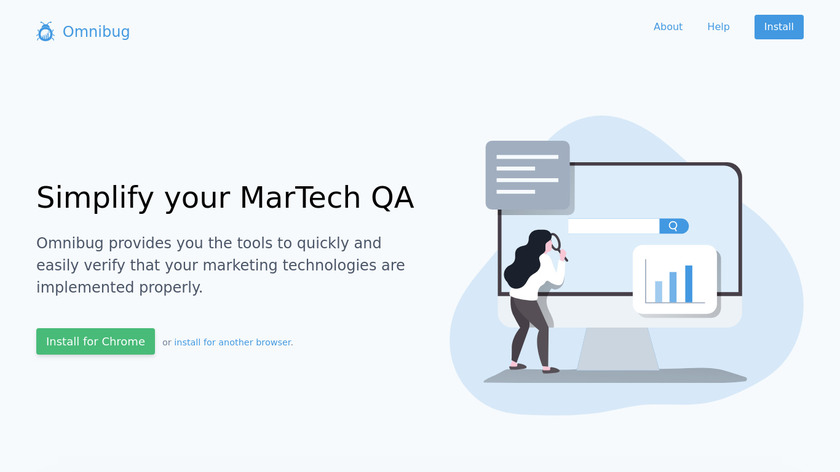 Omnibug Landing Page