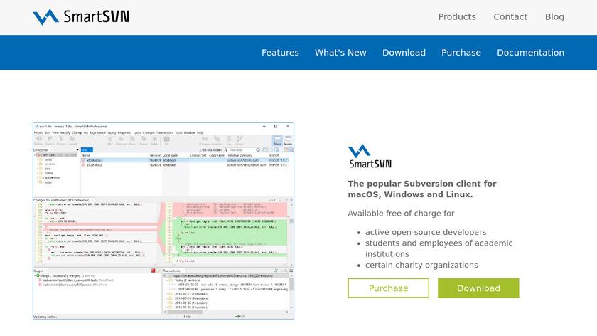 SmartSVN Landing Page