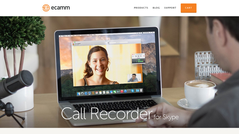 Call Recorder Landing Page