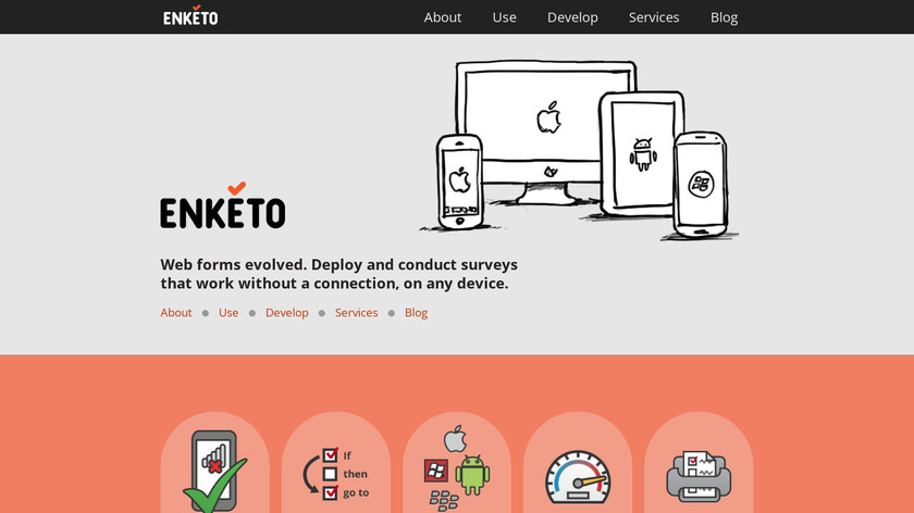 Enketo Smart Paper Landing Page