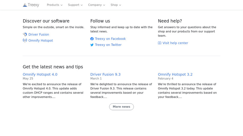 Driver Fusion Landing Page