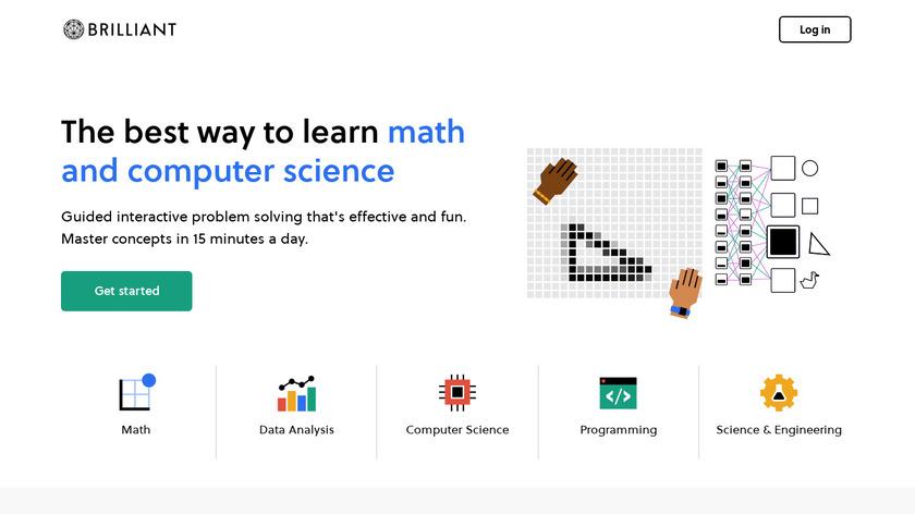 Brilliant.org Landing Page