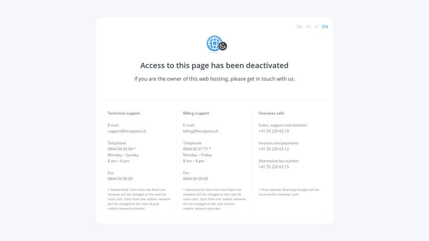Ghostlab Landing Page