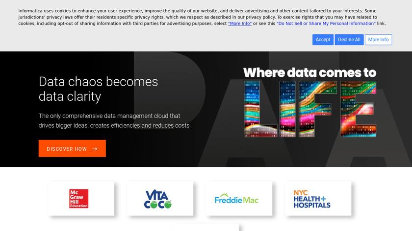 Informatica Landing Page