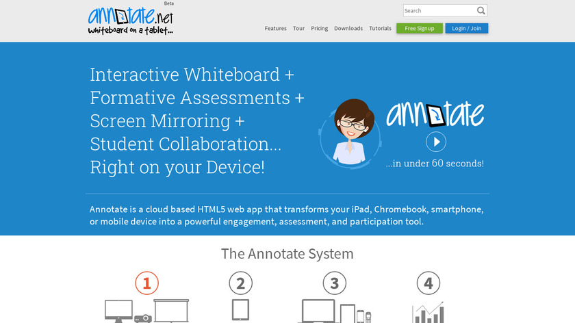 Annotate.net Landing Page