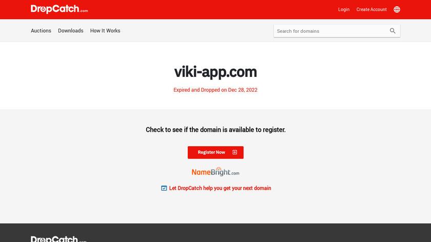 Viki - Wikipedia Landing Page