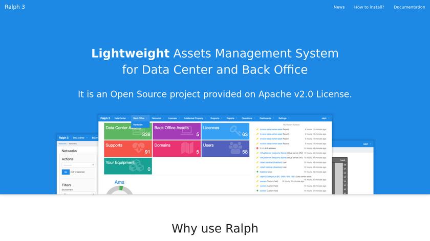 Ralph Landing Page