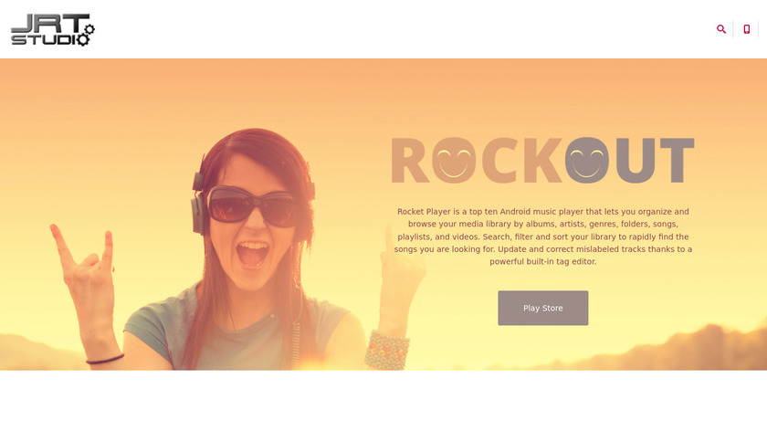 Rocket Player Landing Page