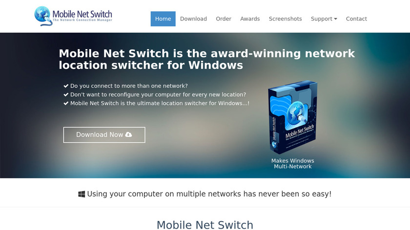 Mobile Net Switch Landing Page