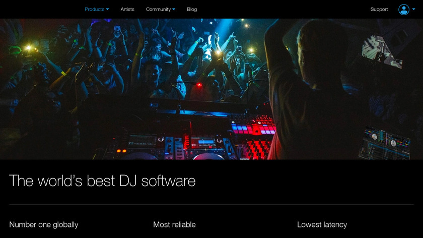 Serato DJ Landing Page