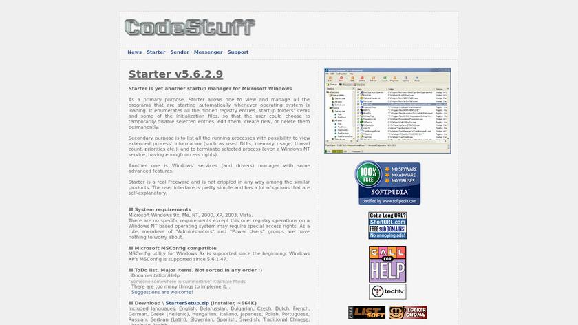 Starter Landing Page