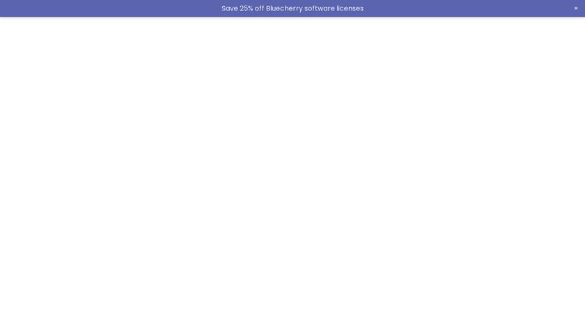 Bluecherry Landing Page