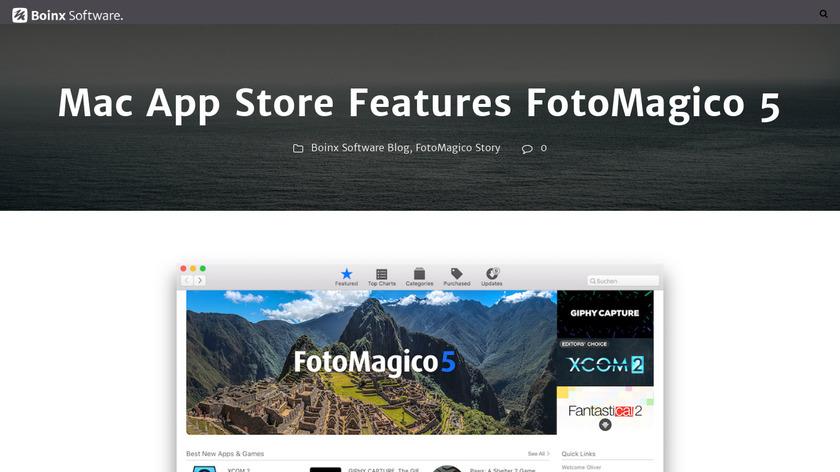 iStopMotion Landing Page