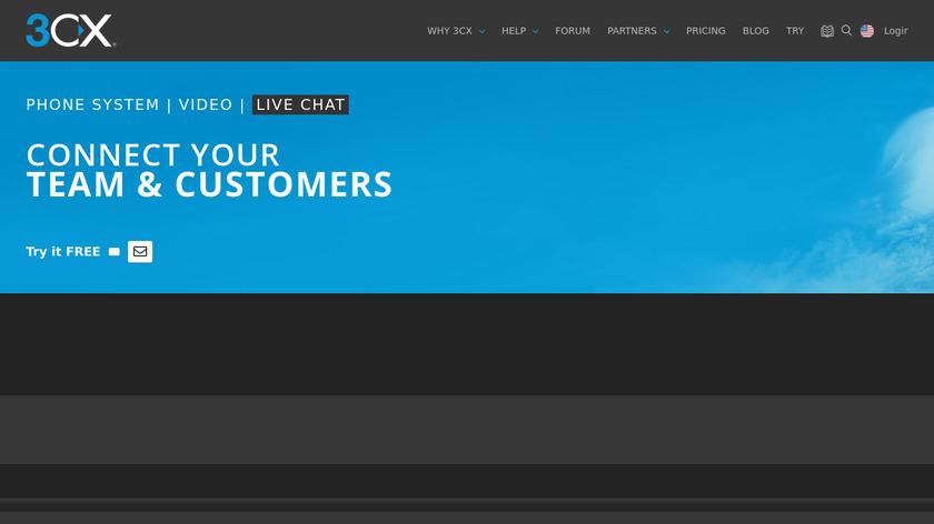 Elastix Landing Page