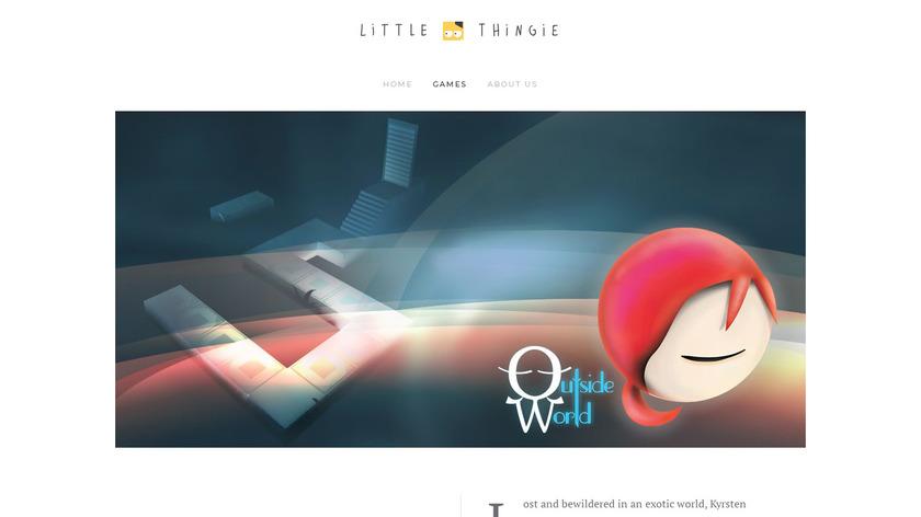 Outside World Landing Page