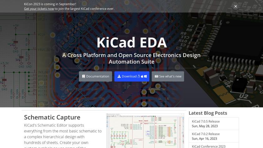 KiCad Landing Page