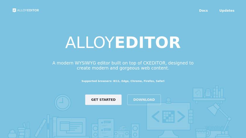 AlloyEditor Landing Page