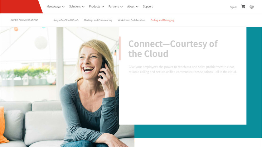 Avaya IP Office Landing Page