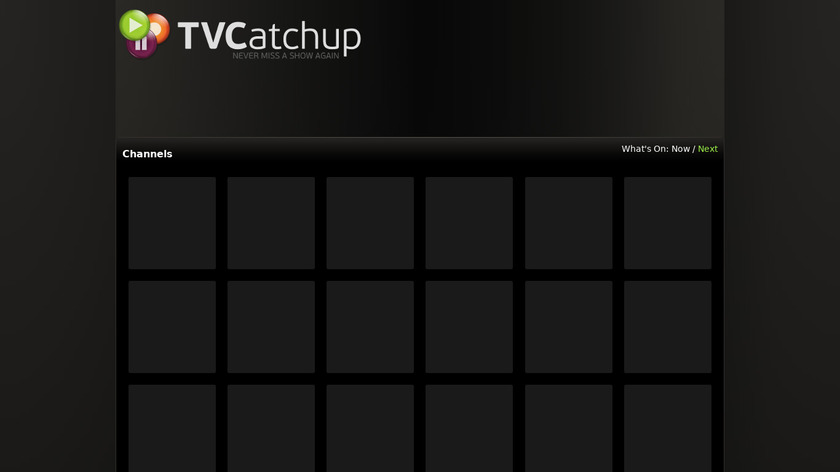 TVCatchup Landing Page